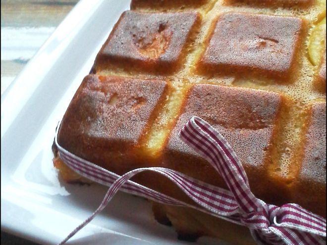 Recette Dessert : Invisible aux pommes et spéculoos par Delfencuisine