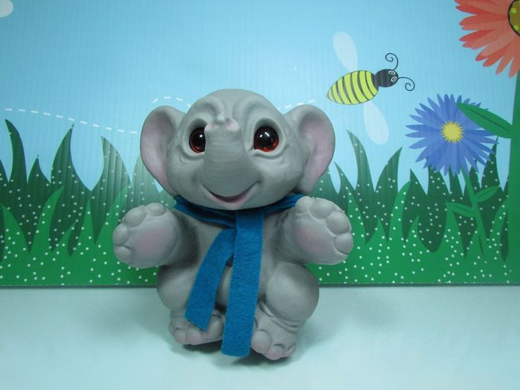 "2008 EURO ELEPHANT - 6"" Dam Troll Doll Rare | Dolls & Bears, Dolls, By Type | eBay!"