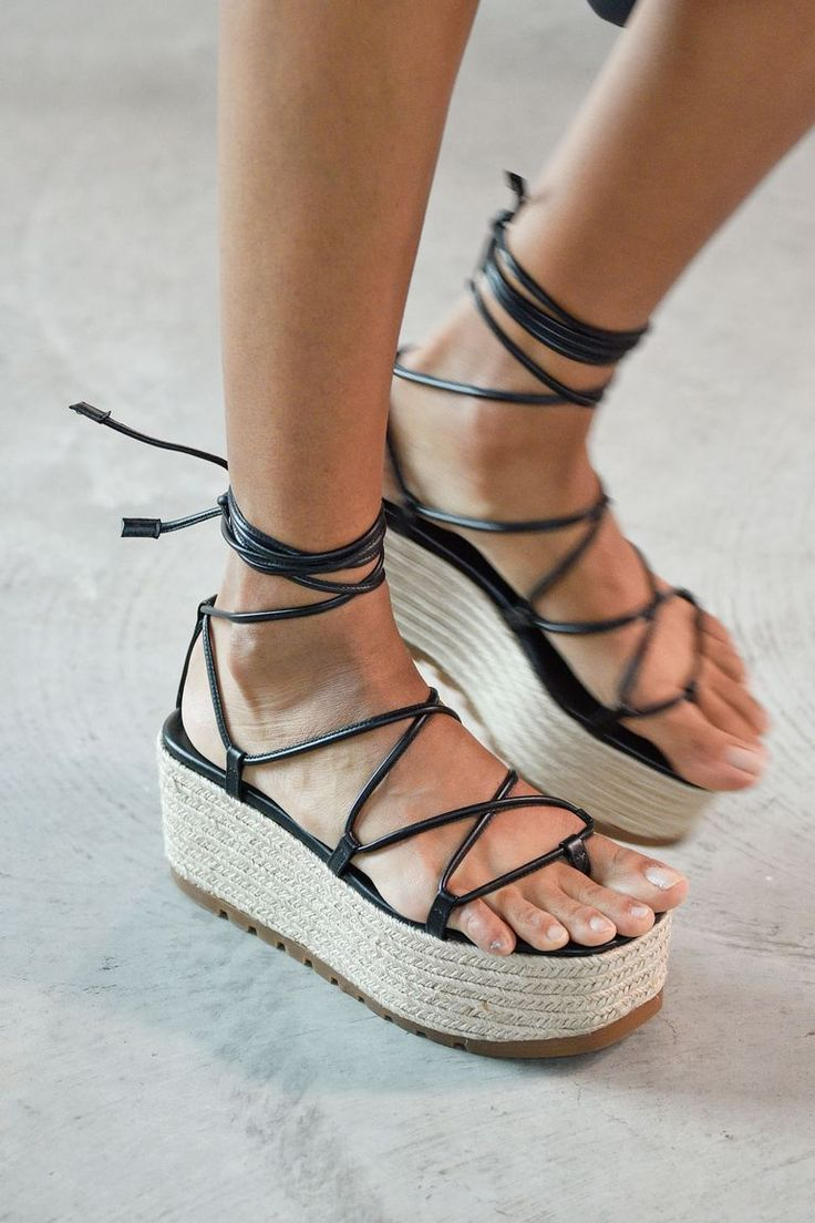 9f18fb490b97 Spring summer 2019 shoe trends – 100 best sandals and shoes for SS19 ...