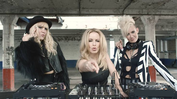 NERVO feat. Kylie Minogue, Jake Shears & Nile Rodgers - The Other Boys (2015) ... Damn Damn Damn! This is hot!