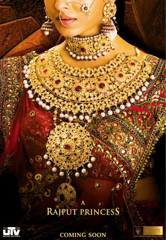 "Aishwarya as Rajput Queen in ""Jodha Akbar"". The perfect look for the Rajput Bride !"
