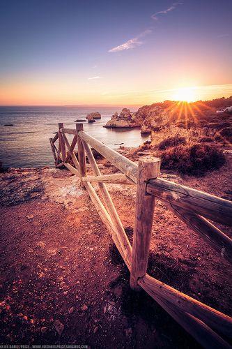 Sunset at Prainha, Alvor, Algarve, Portugal