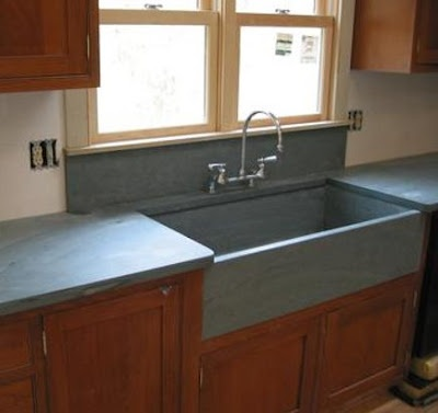 Soapstone Backsplash Behind Sink Kitchens Forum