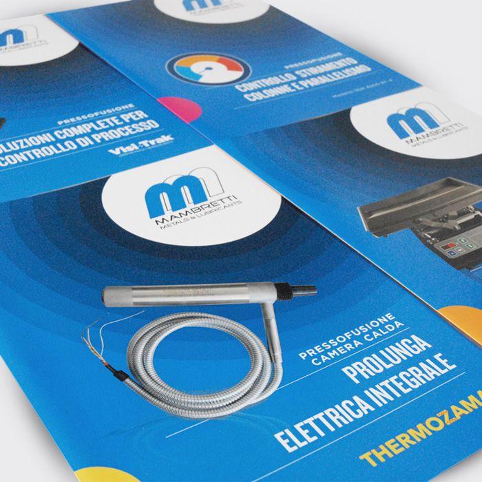 Progetto: Mambretti - Copertine brochure