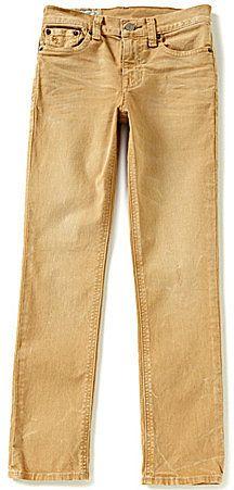 Ralph Lauren Childrenswear Big Boys 8-20 Modern-Fit Skinny Jeans