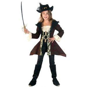 Πειρατίνα στολή για κορίτσια με σακκάκι