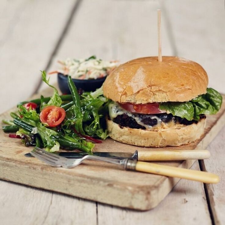 Las Iguanas Vegetarian burger recipe