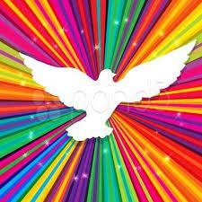 signo de paz abstracto