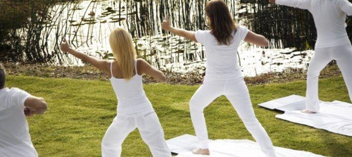 Tägliche #Yoga Übungen im #Hotel #Panorama . Mehr Informationen auf http://www.selectedhotels.com/de/hotel/alp-wellness-sport-hotel-panorama