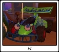 RC / Toy Story / Pixar / John Lasseter
