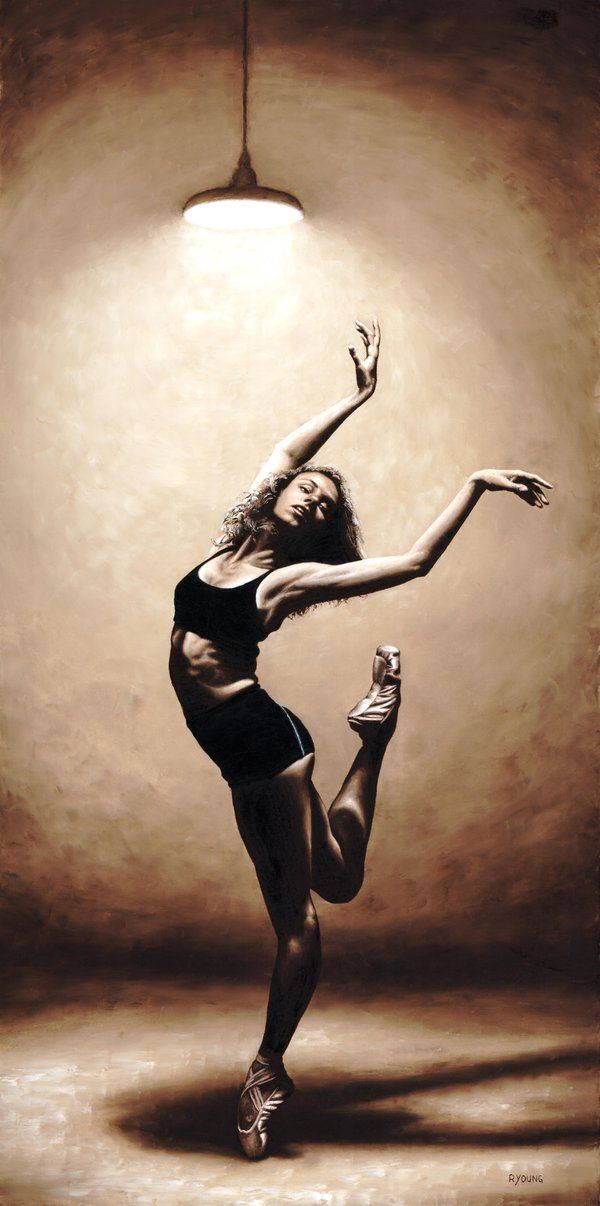: Paintings Art, Oil Paintings, Richard Young, Dance Artworks, Dancers Spotlight, Art Prints, Fine Art, Modern Dance, Dramatic Eclectic
