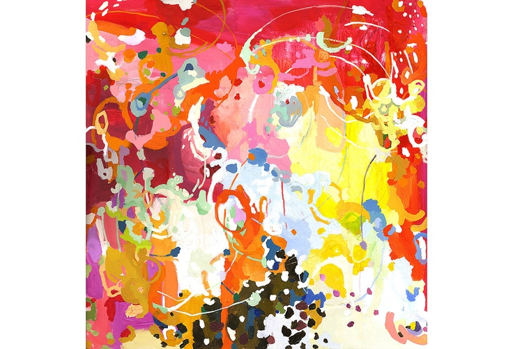 One Kings Lane - Color Theory - Michelle Armas, Antonia    Abstract art with lovely colors