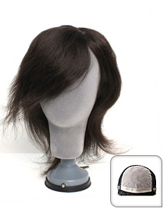 Anti-cancer wigs through wig human hair wigs  General anti-cancer wigs Notepad 10-inch  Madama Butterfly Hair Styles Hairpieces  870,000 won