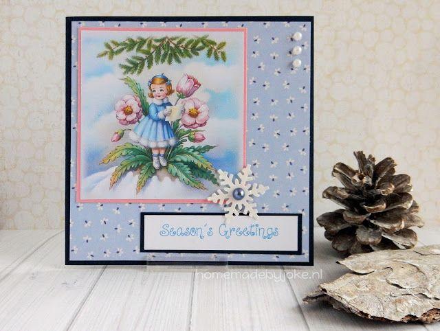 Vintage Christmas cards / Vintage kerstkaarten