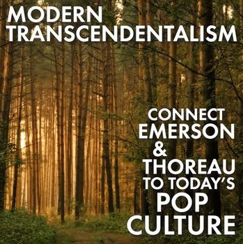 For this assignment, your students will become experts on Emerson and Thoreau by finding echoes of their famous words in the works of people we enjoy today. T.V. shows, movies, cartoons/comic strips, music, products/packaging, internet news stories, and public figures are fair game as students find examples to illustrate the words of Emerson and Thoreau.