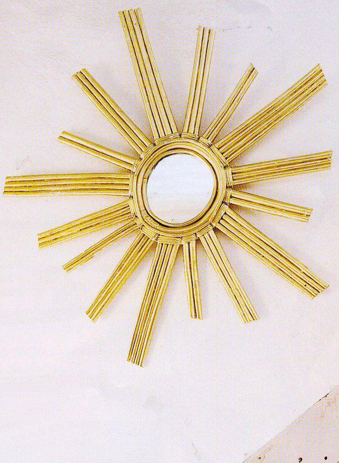 honor d coration luminaires miroirs miroir soleil home decor pinterest feng shui. Black Bedroom Furniture Sets. Home Design Ideas