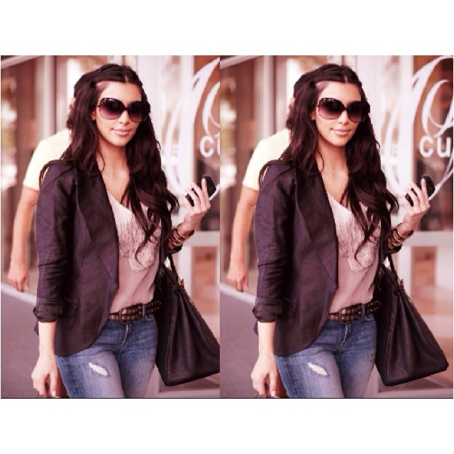 : Light Pink Blazers, Kardashian Khao, Celebrity Style, Kim Kardashian, Kardashian Style, Kardashian Obsession, Kardashian Jenn, Amazing Style, Hair Style