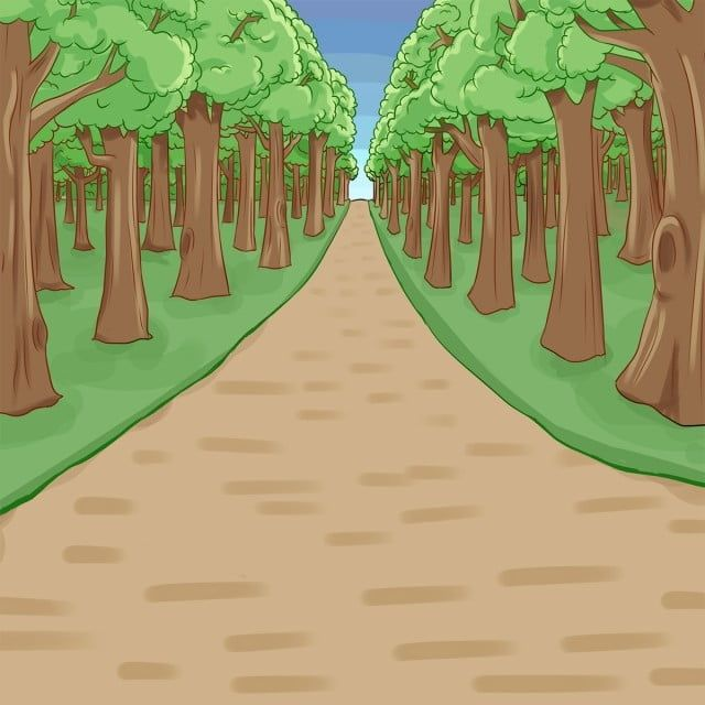 Cartoon Forest Landscape Png Forest Cartoon Png Transparent Clipart Image And Psd File For Free Download Blue Background Images Forest Landscape Background For Photography