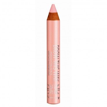 The Rimmel Brow This Way Highlight Pen is perfect on the brow bone to emphasise your brows.