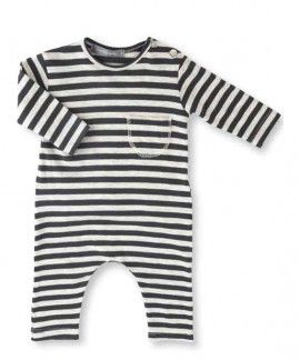 One more in the Family striped baby suit #newseason #onemoreinthefamily www.broerenzus.nl
