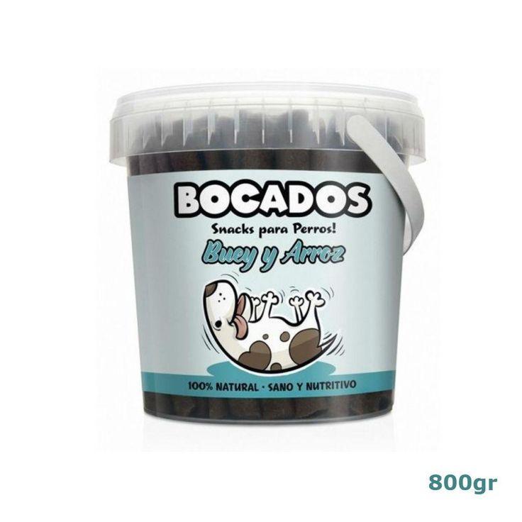 Bocados de Buey y Arroz - Snacks para perros