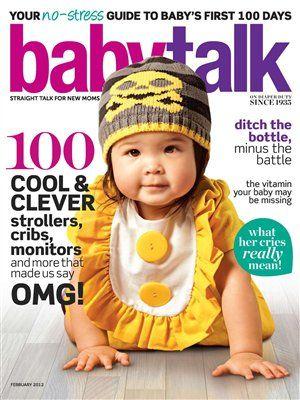 Baby Talk magazine @Pink Pearl PR