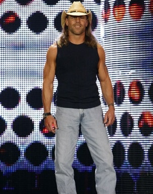 Shawn Michaels. Looking best in his cowboy hat.