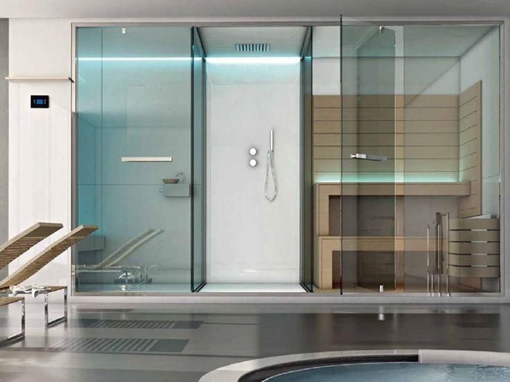Sauna / Dampfbad ETHOS by Sauna Vita | Design Franco Bertoli