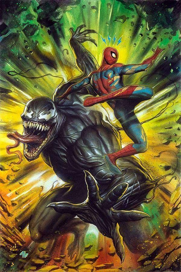 Venom #150 (2017) Forbidden Planet Exclusive Variant Cover Adi Granov