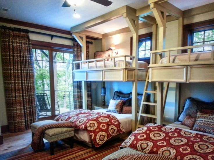 Bunk Room With Different Size Beds Where Would I Put