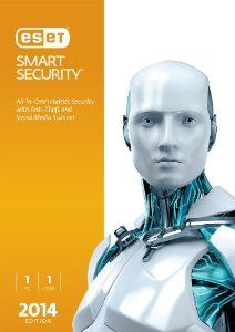 ESET Smart Security 2014 Edition - 1 User  Antivirus, Antispyware, Antispam, Anti-Phishing, Firewall, Parental Control, Social Media Scanner, Anti-theft and Internet Security Training. Track and locate your missing laptop Keep your private data safe  #antispyware #antispam #eset #security #smartantivirus