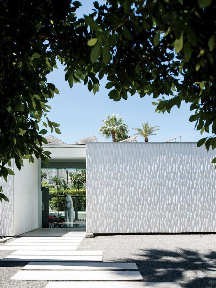 Configur8 tiles provide distinctive cladding for the exterior.: