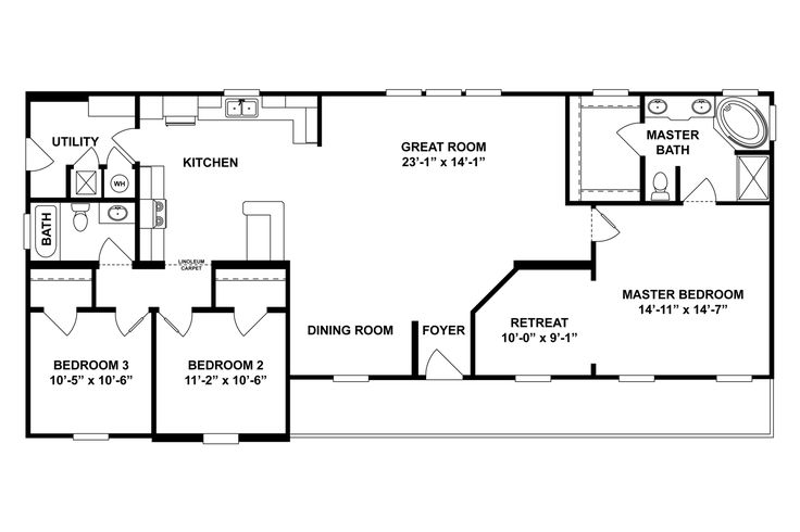 12 best mobile homes images on pinterest clayton homes mobile interactive floor plan malvernweather Image collections