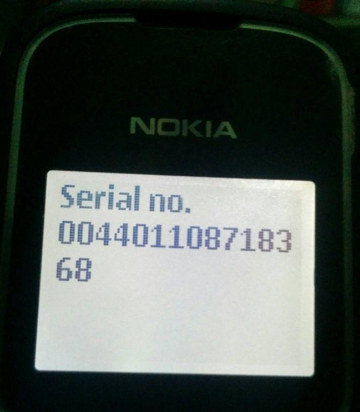 Prototype #Nokia #Imei #Nomor_cantik #004