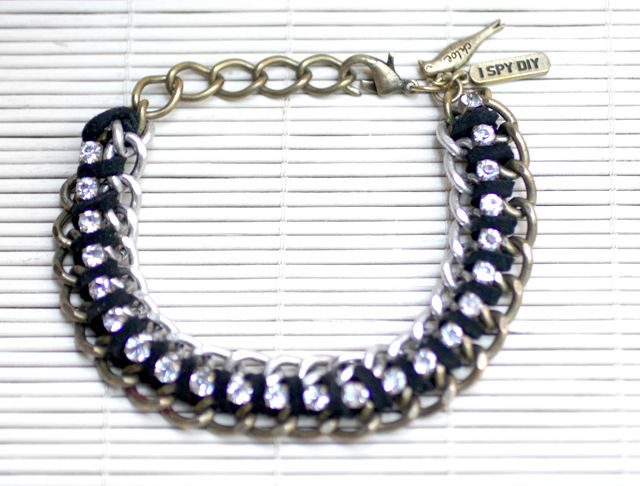 » Search Results » Rhinestone chain bracelet