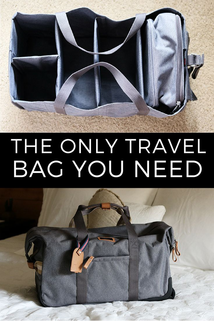 The best travel bag, StorkSak Carry On