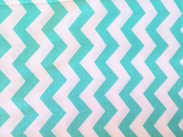 A personal favorite from my Etsy shop https://www.etsy.com/listing/526751268/mint-fabric-chevron-mint-chevron-mint