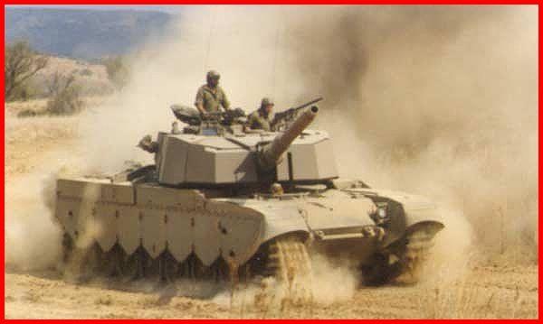 SADF.info Olifant Tank during exercises