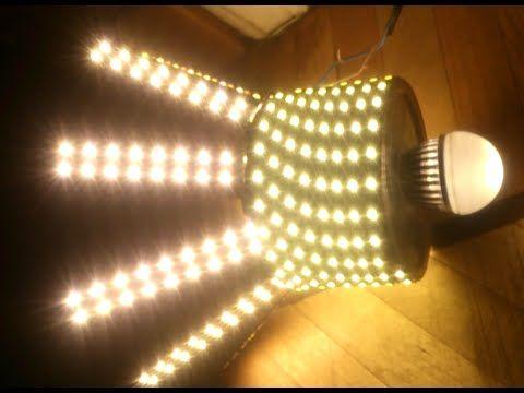 Светодиодная люстра своими руками (Handmade LED chandelier) - YouTube