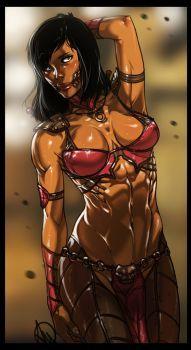 Mortal Kombat X - Mileena by Ganassa