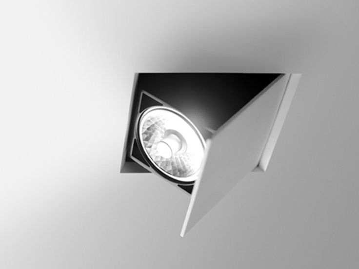 Adjustable Ceiling Spotlight Flap Collection By Vibia