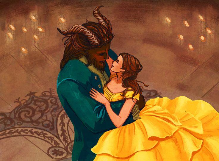 Beauty and the Beast by ChristyTortland.deviantart.com on @DeviantArt