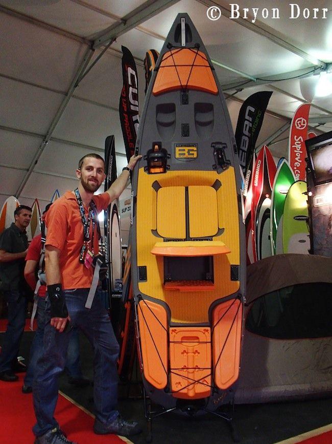 Event outdoor retailer 2012 thursday bear grylls for Fissot fishing kayak price