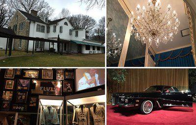 Sådan boede Elvis Presley i Graceland