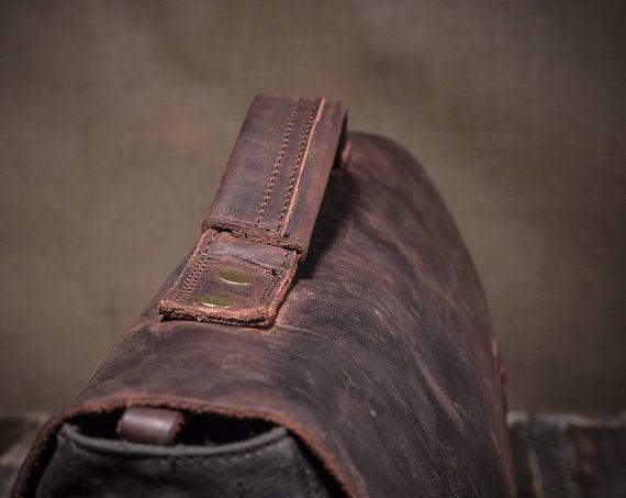Satchel Leather Satchel Mens Satchel Canvas Satchel by Tram21