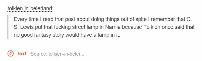 There's a bunch of street lamps in Harry Potter. Not sure if they're mentioned though, are they?