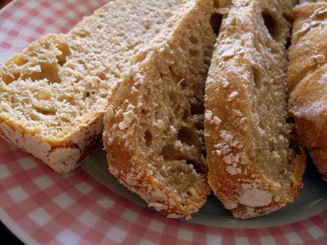 Pão integral rústico