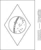 South American Flags Coloring Pages | Kids coloring pages