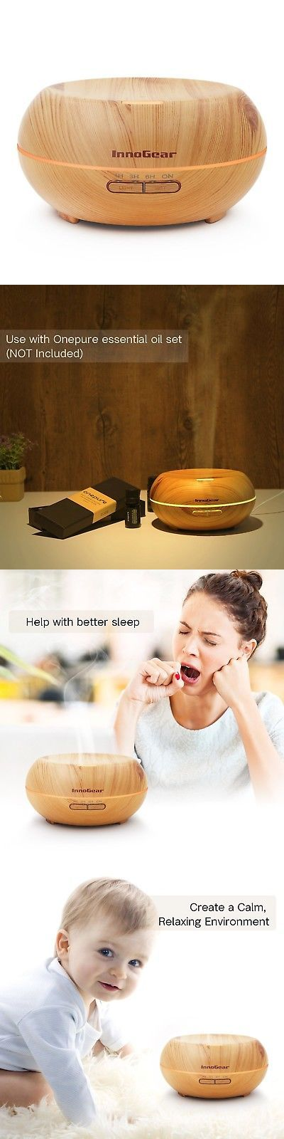 Essential Oils and Diffusers 20553: Innogear Aromatherapy Essential Oil Diffuser Ultrasonic Cool Mist Diffusers W... -> BUY IT NOW ONLY: $30.86 on eBay!