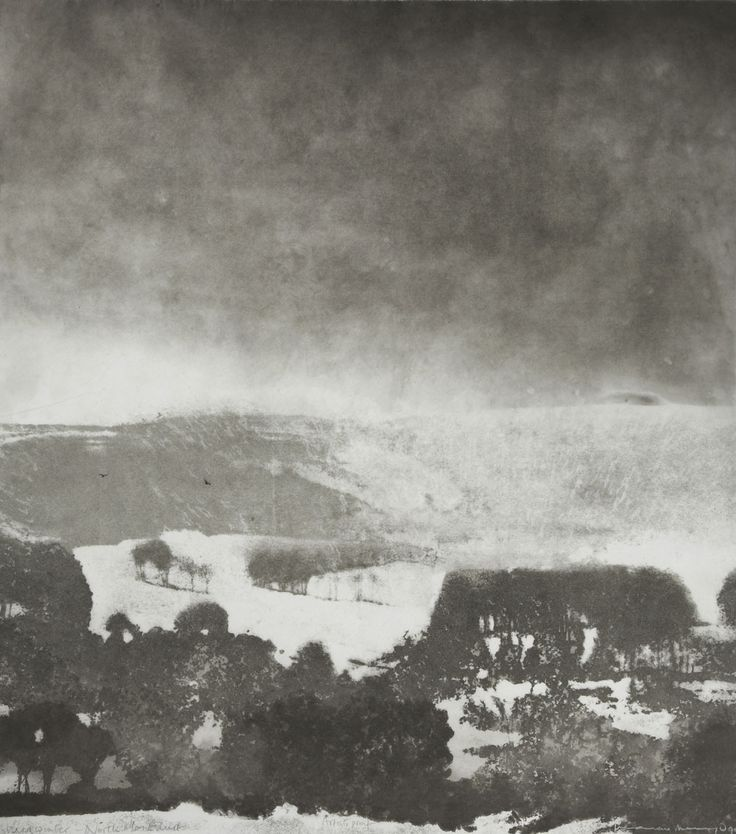 Midwinter, North Yorkshire - Norman Ackroyd
